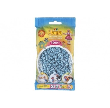 Hama perler turkis farve 31