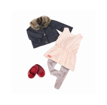 Dukketøj jakke og kjole