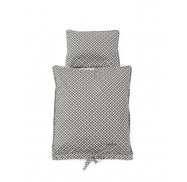 Smallstuff dukke senge tøj sort/hvidt