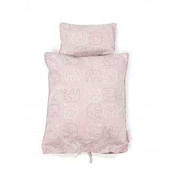 Smallstuff dukkesengetøj rosa