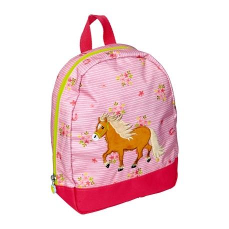 Heste rygsæk lyserød