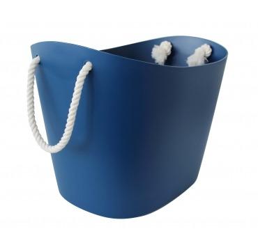 Plast kurv blå