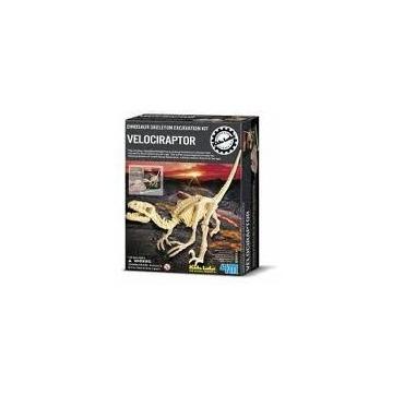 Dig-A-Dino skeleton - Velociraptor