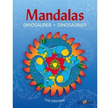 Mandalas Dinosaurier