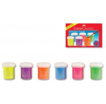 Faber Castell Gouach neon farver