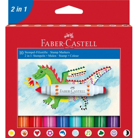 Faber Castell stempel og tusch