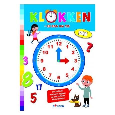 lær klokken opgave bog