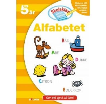 Lær Alfabetet fra 5 år