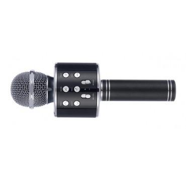 Mikrofon karaoke sort