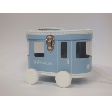 Skøn kuffert bus på hjul