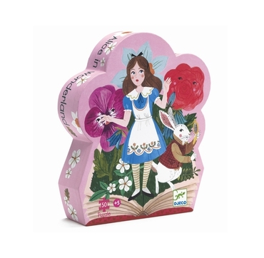 Djeco puslespil Alice i eventyrland