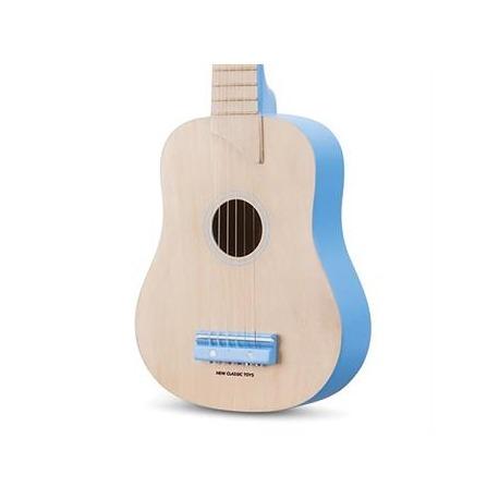 Guitar natur/blå