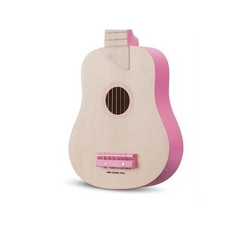 Guitar natur/rosa