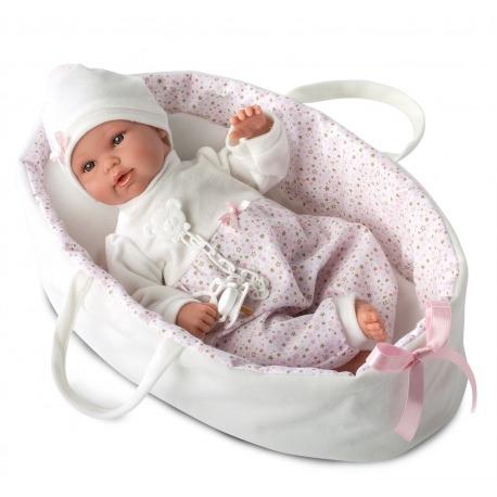 Loren baby dukke i lift 63628