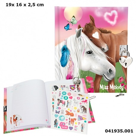 Topmodel heste dagbog