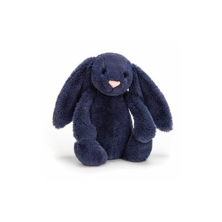 Jellycat Bashful Kanin mørkeblå