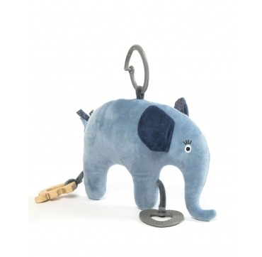 Smallstuff blød elefant med rangler