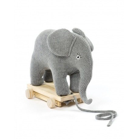 Smallstuff Elefant på hjul