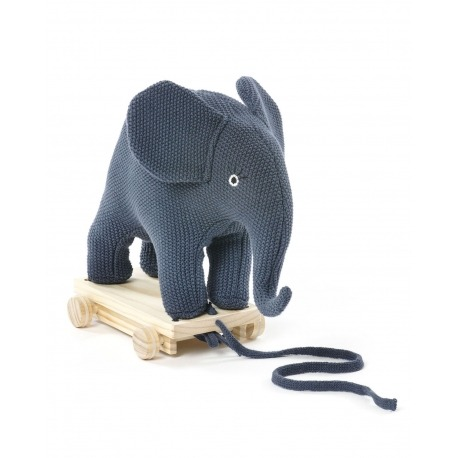 Smallstuff Elefant blå