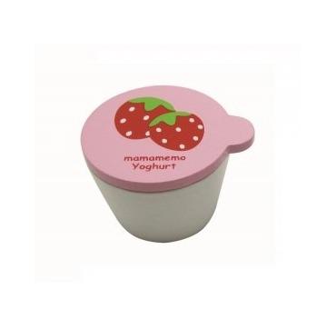 Yoghurt i bæger jorbær
