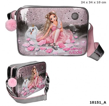 Topmodel skulder taske med Ballerina