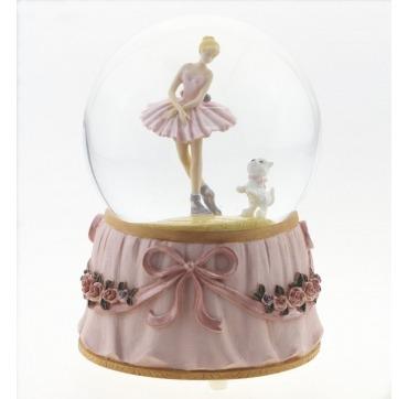 Snekugle med Ballerina