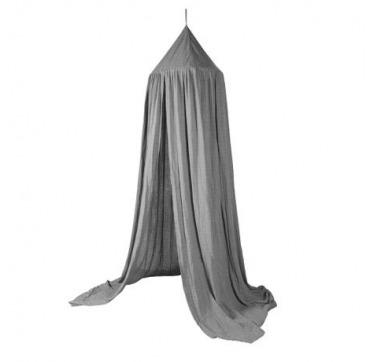 Sebra sengehimmel grå