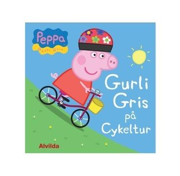Gurli gris på cykeltur bog