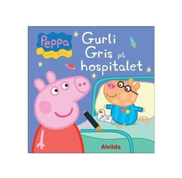 Gurli Gris på hospitalet bog