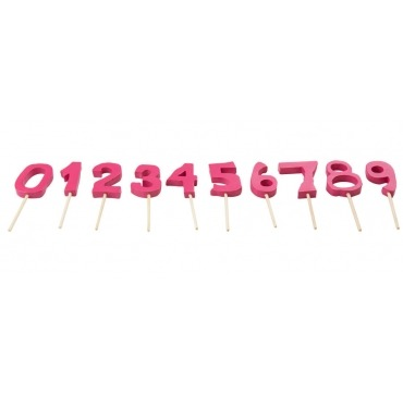 Kids by Friis lagkage tal lyserød