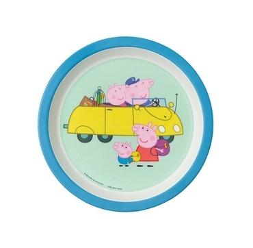 Gurli gris tallerken på tur