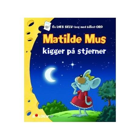 Mathilde mus kigger på stjerner