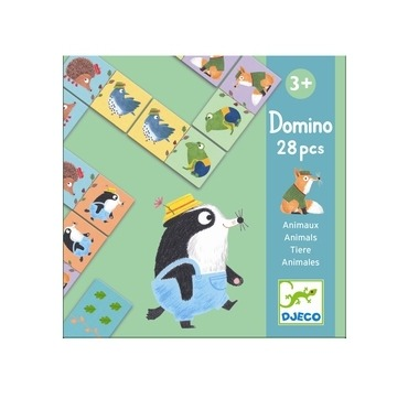 Djeco Domino med dyr