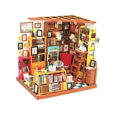 Byg dit eget miniature Biblotek
