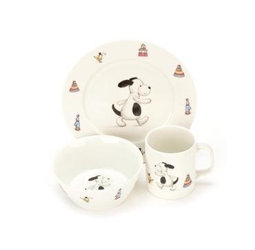Jellycat porcelæn spisesæt