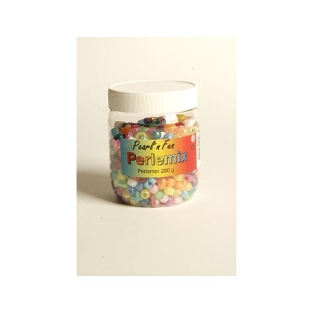 Perle mix i perlemor farvet