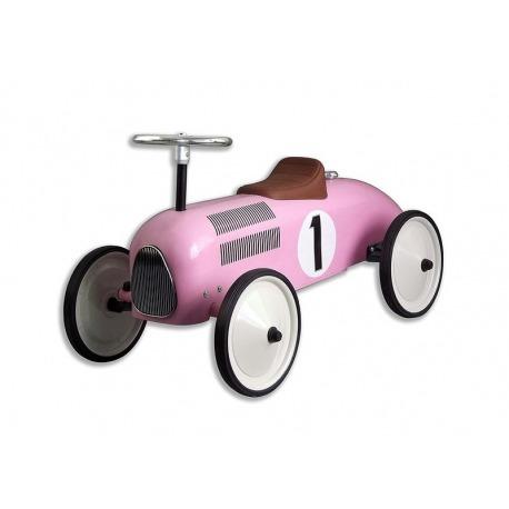 Metal bil pink
