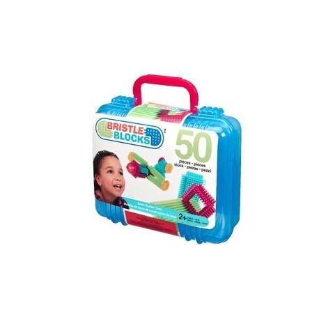 Bristle Block 50 stk i kuffert