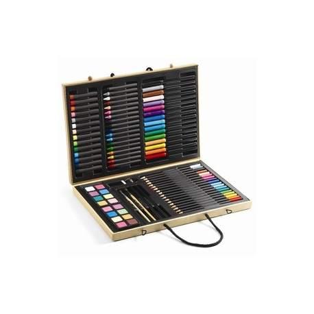 Kuffert med farver