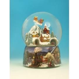 Spilledåse - jule tog og julemand