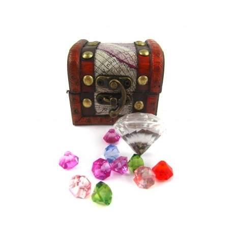 Pirat skattekiste med Diamanter