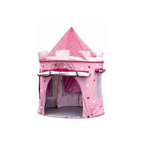 Pink pop up telt