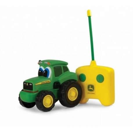 Traktor Johnny m/fjernbetjening