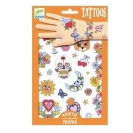 Tattoos med glimmer