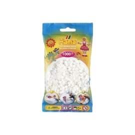 Hama perler hvid
