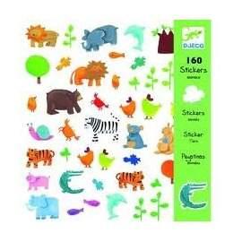 Klistermærker med dyr