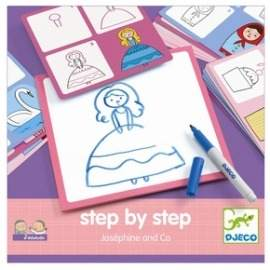 Djeco lær at tegne Josephine verden