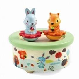 Djeco spilledåse med dyr