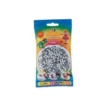 Hama perler lysegrå farve 70