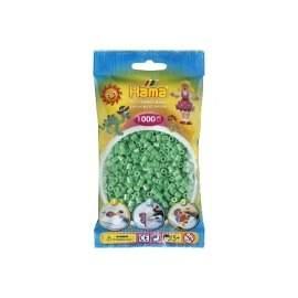 Hama lysegrønne perler farver 11
